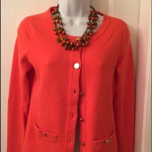 Banana Republic cardigan with gold buttons